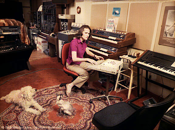 Walter Wendy Carlos Synthesizer Short Biography