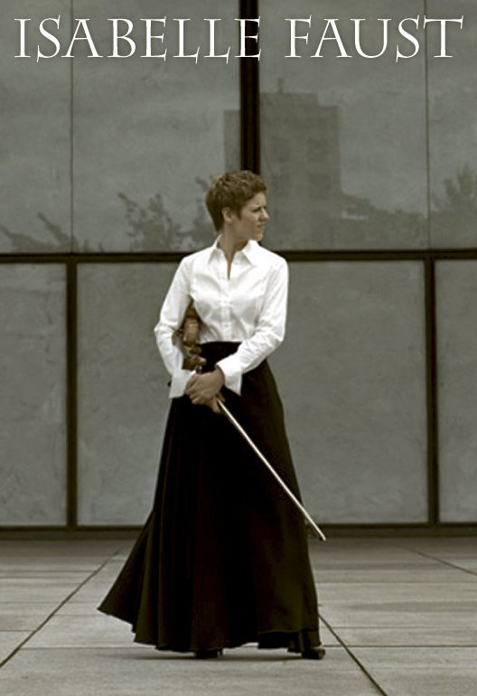 How Electricity Works >> Isabelle Faust (Violin) - Short Biography