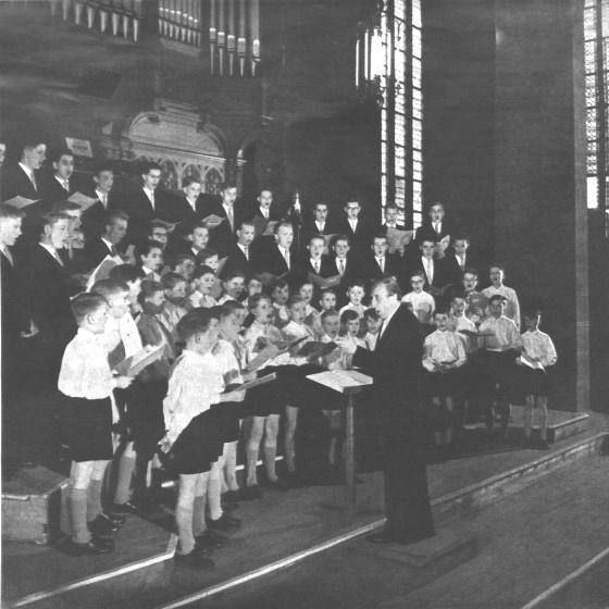 Kurt thomas conductor thomaskantor composer short for Butlers leipzig