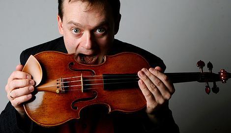 Frank Peter Zimmermann Violin Short Biography