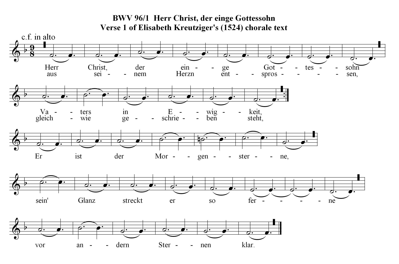 Chorale Prelude on Herr Christ, der einig Gotts Sohn