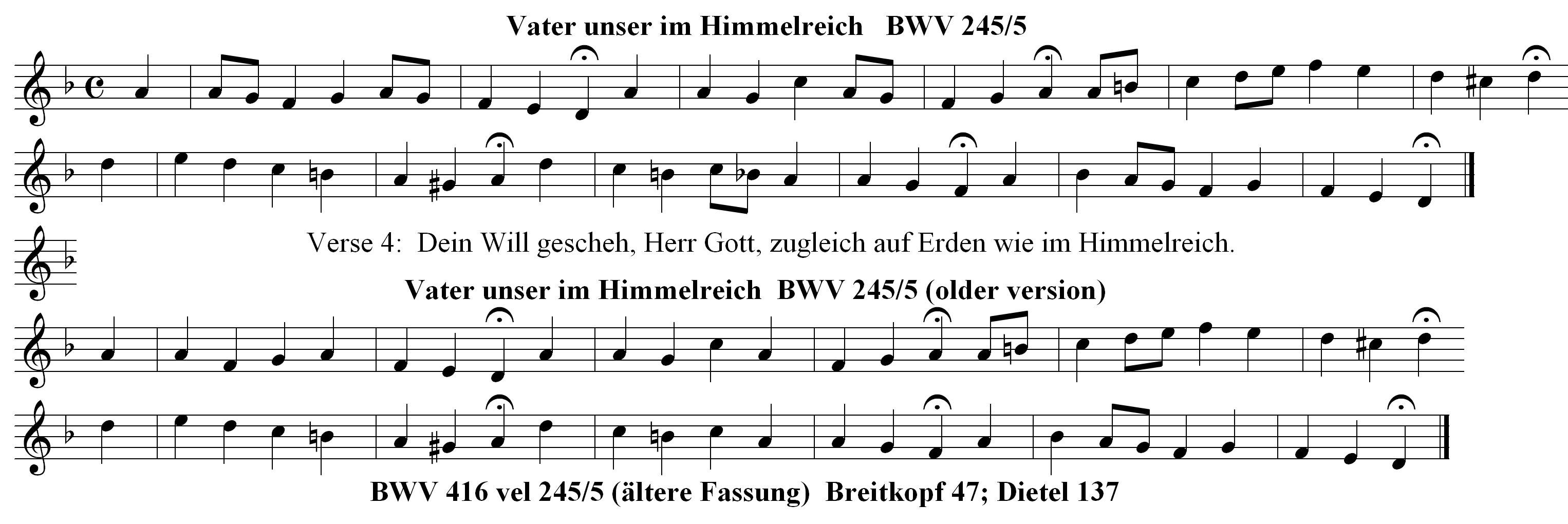 Vater unser in Himmelreich