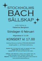 bach konsert stockholm