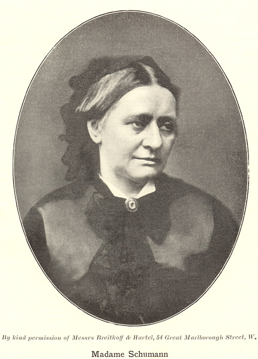 a biography of clara wieck schumann Clara schumann (1819 - 1896) the daughter of friedrich wieck, her teacher and mentor until her marriage with robert schumann, clara schumann had embarked on a successful career as a pianist before her liaison with schumann, leading to their marriage in 1840.