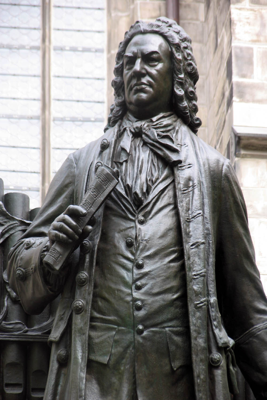 Bach In Arts Bach Statue