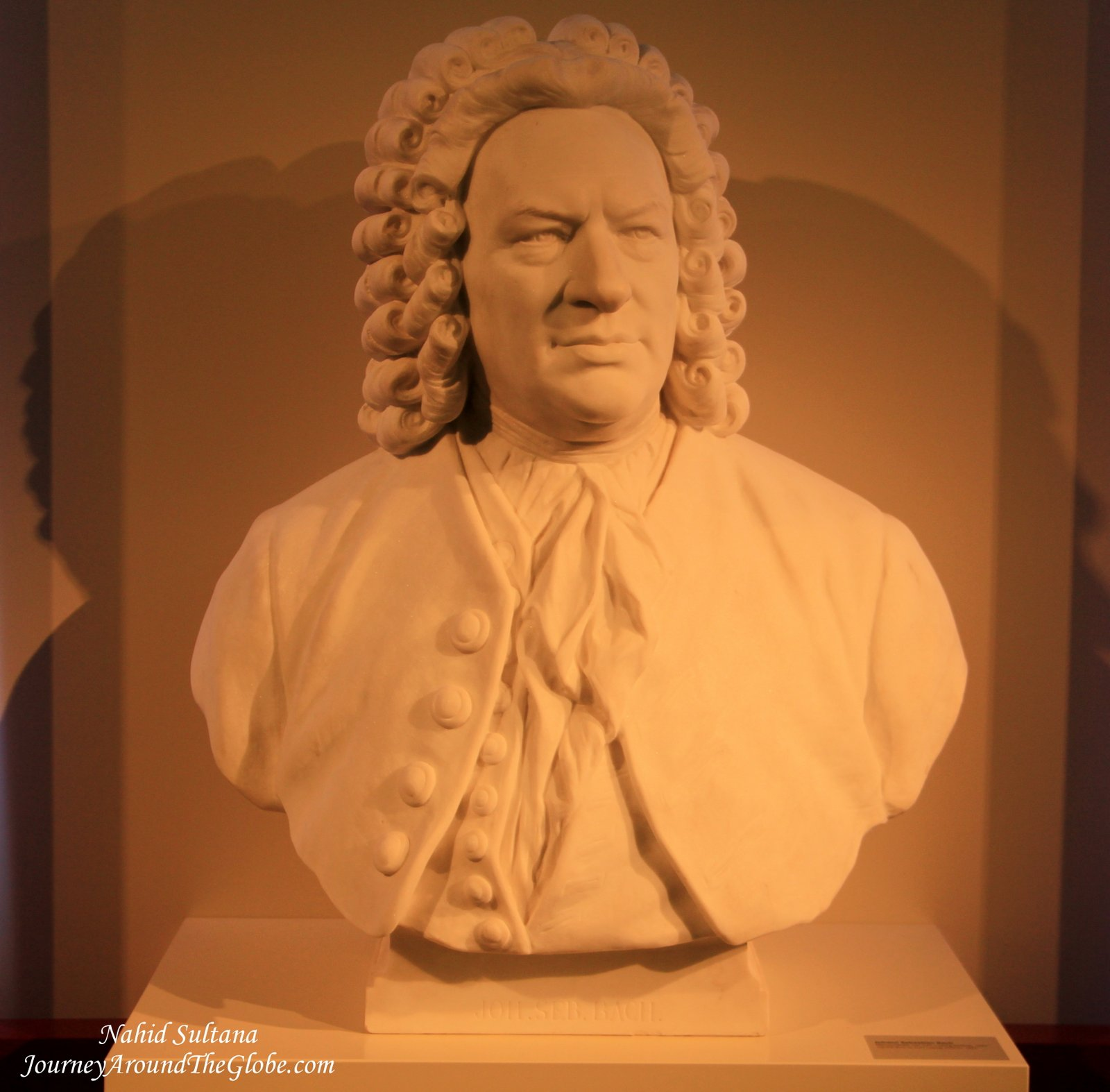 Bach In Arts Entrance Bust Of J S Bach In Bach Museum