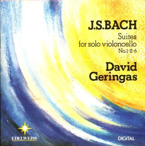 krenek suite for violoncello solo Johann sebastian bach - 6 suiten für violoncello solo - 6 suites for solo violoncello - bwv 1007-1012 - pierre fournier.