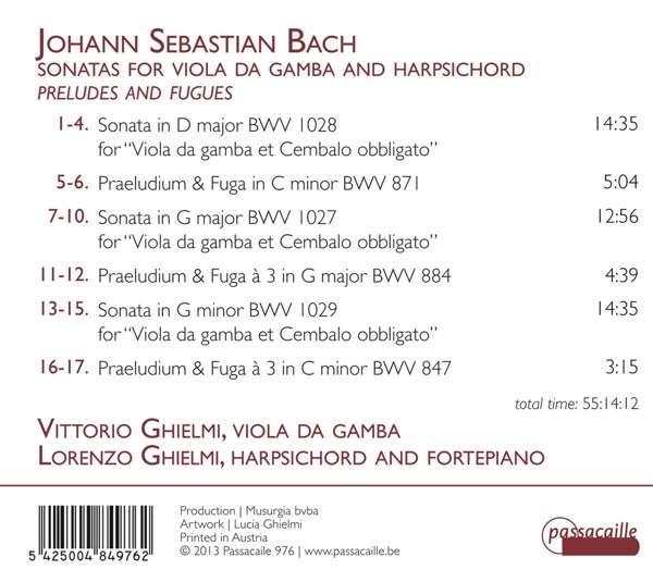 js bach prelude g major number 15