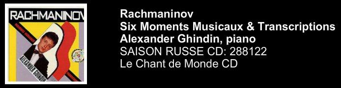 moments musicaux rachmaninov