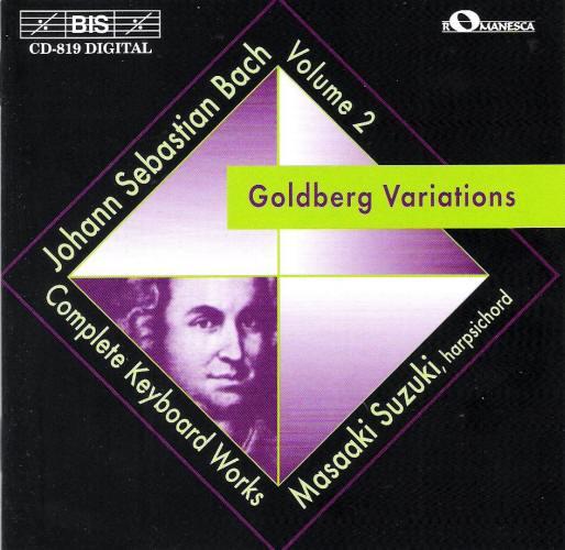 goldberg variations single movement Greven