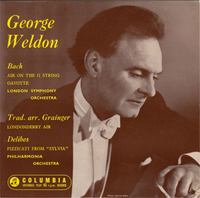 George Weldon Conducting The Philharmonia Orchestra A George Weldon Concert