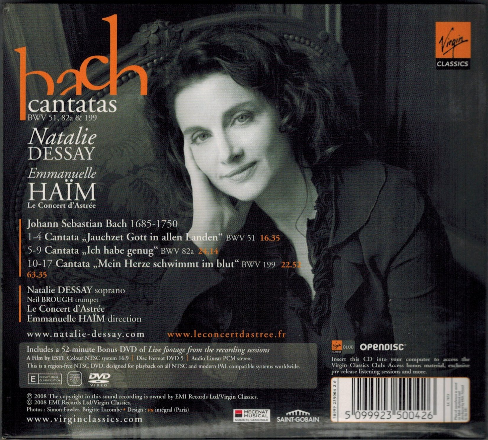 soprano natalie dessay mp3 This artist is also included in classical catalog where you can find more classical music content.