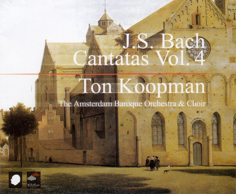Ton Koopman Bach Cantatas Amp Other Vocal Works