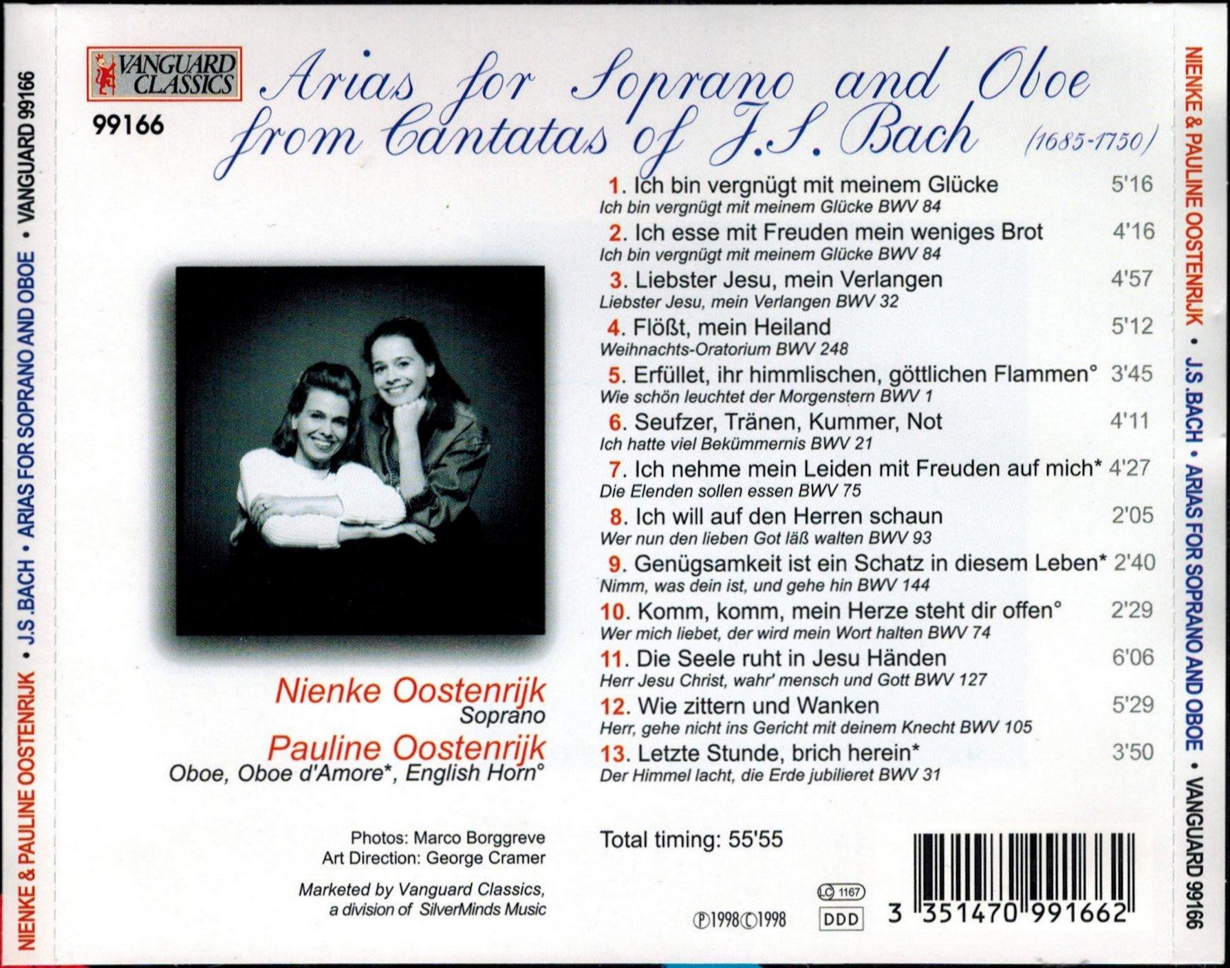 Cantata BWV 74 - Discography Part 2: Recordings of Individual Movements