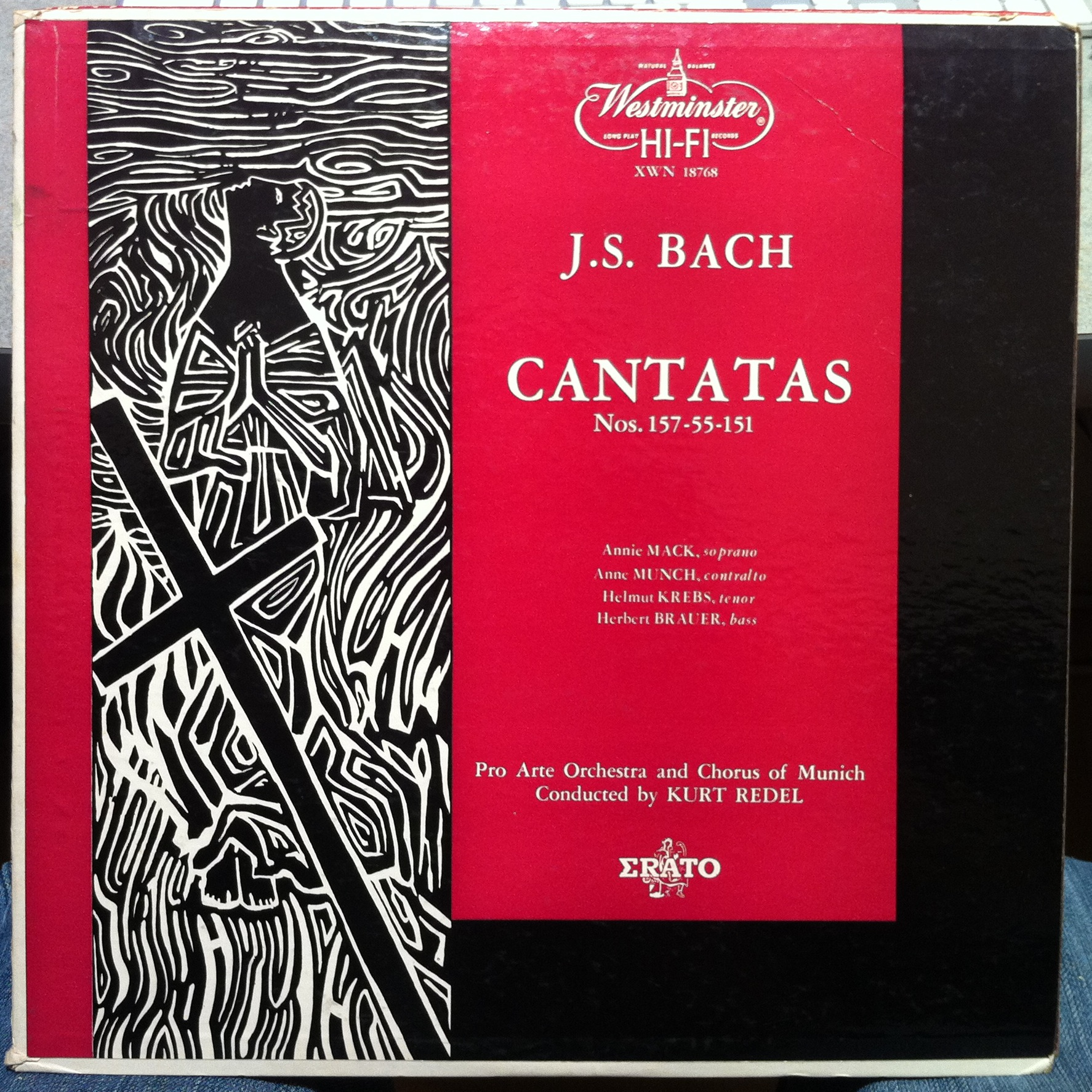 Cantata Bwv 151 Details Discography Part 1 Complete Recordings Austin Flats Rene Maroon 40 Recorded In Munich Bavaria Germany