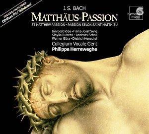 bach - Bach : Passions selon St Jean et St Matthieu SMP-Herreweghe-R2