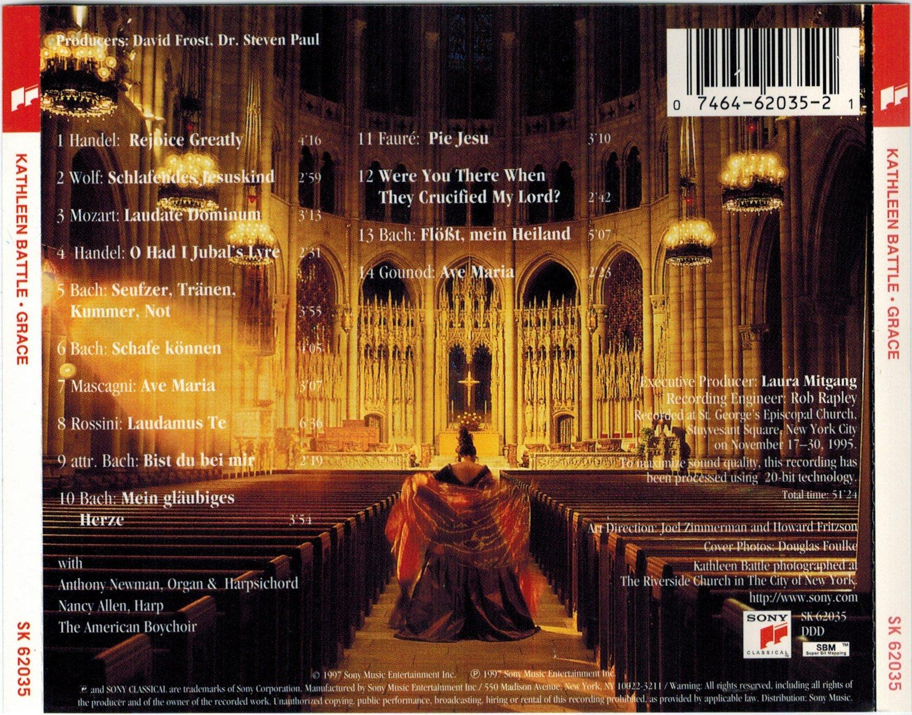 K Battle Soprano Robert Sadin - Bach Ca...