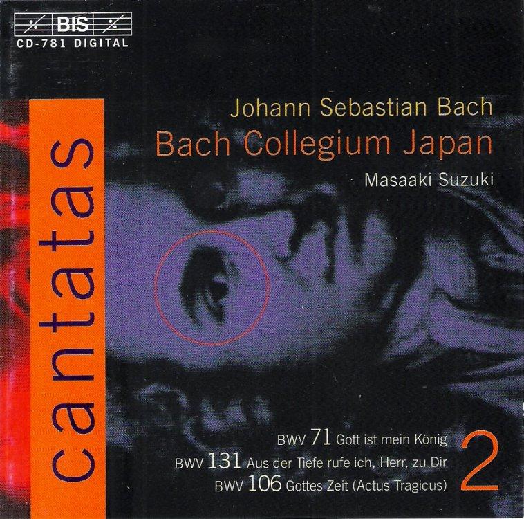 Bach Cantatas Box Set Suzuki
