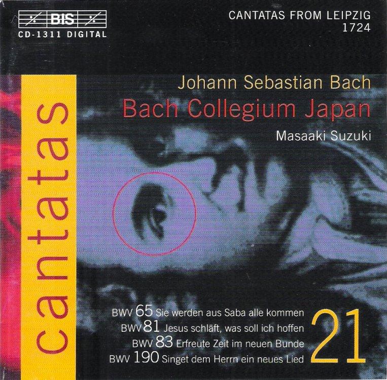 Bach Collegium Japan Suzuki Cantatas
