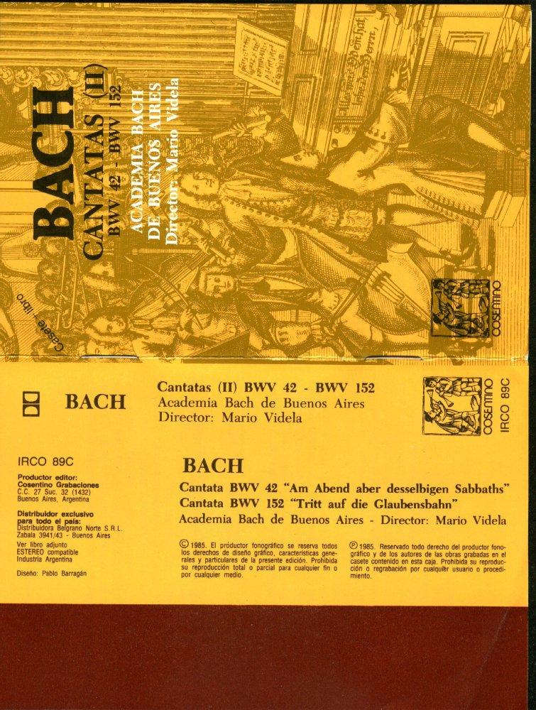 bach list of cantatas