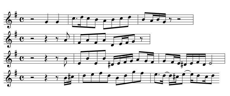 The Quodlibet as Represented in Bach's Final Goldberg