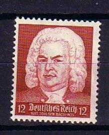Bach Stamp German Reich