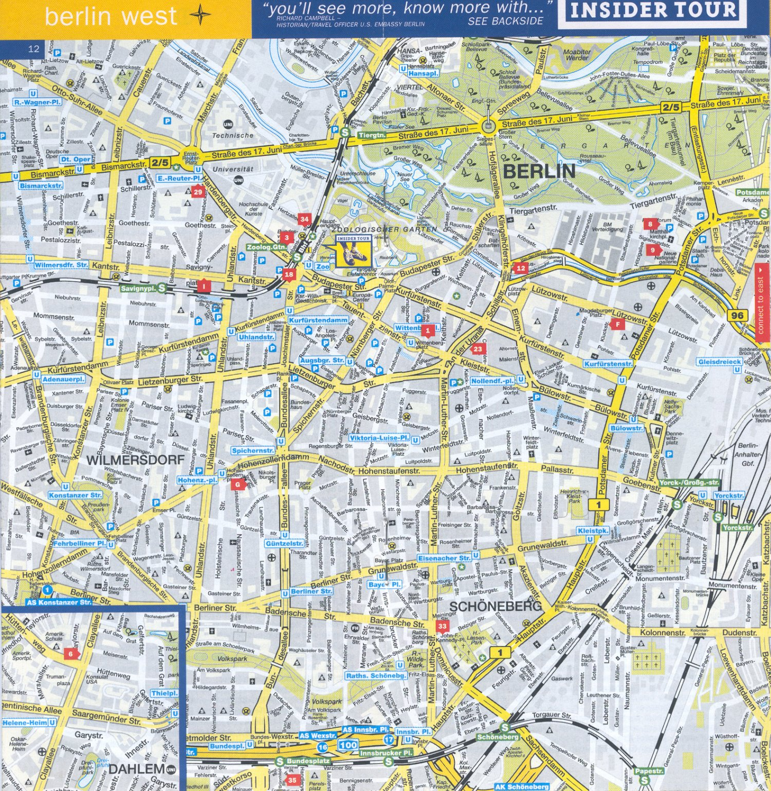 Guide To Bach Tour Berlin Maps