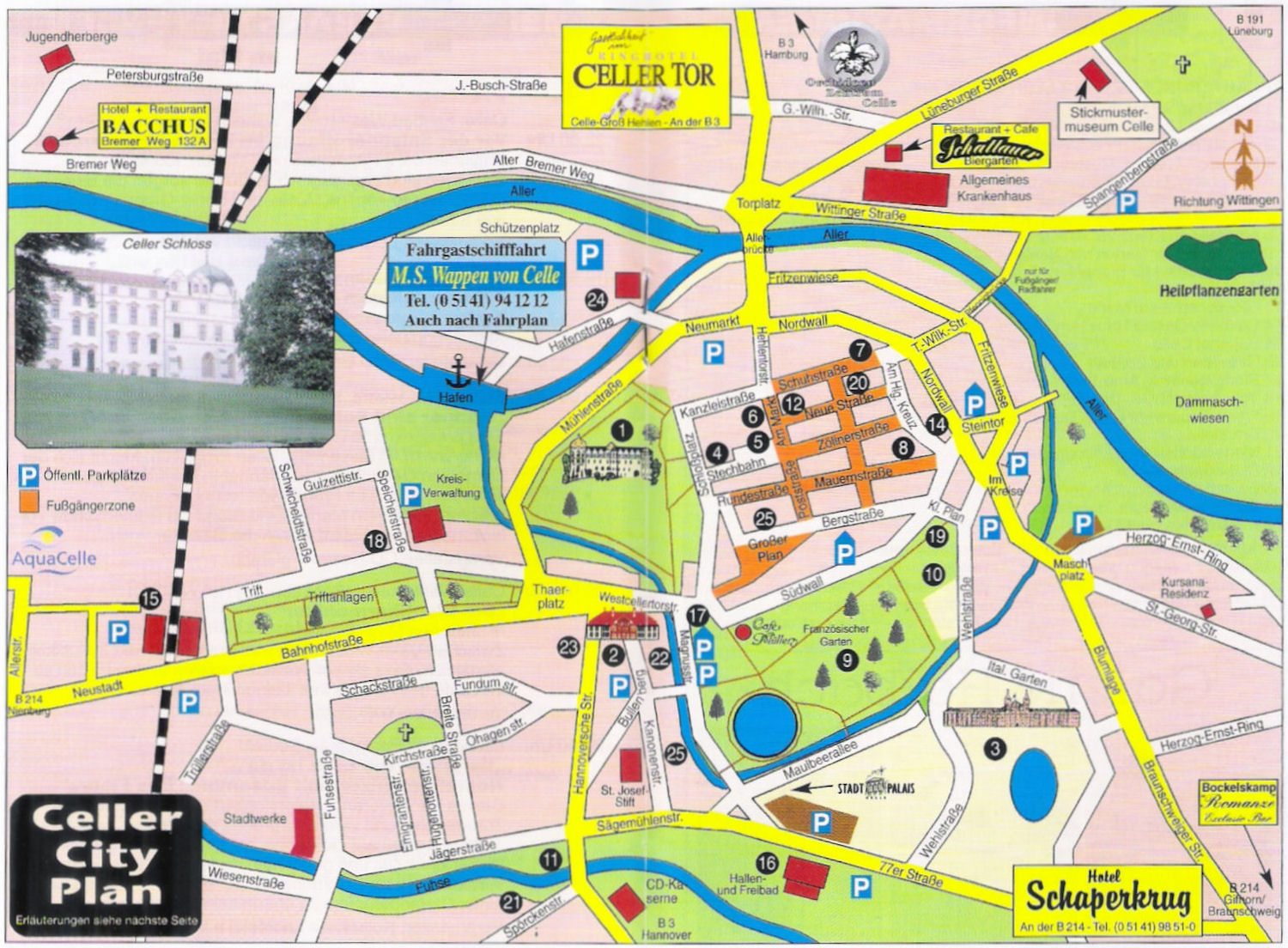 Berlin Germany Tourist Map – Berlin Tourist Attractions Map