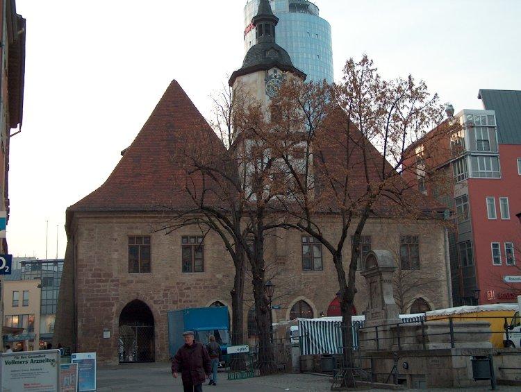 Guide to Bach Tour: Jenajena town