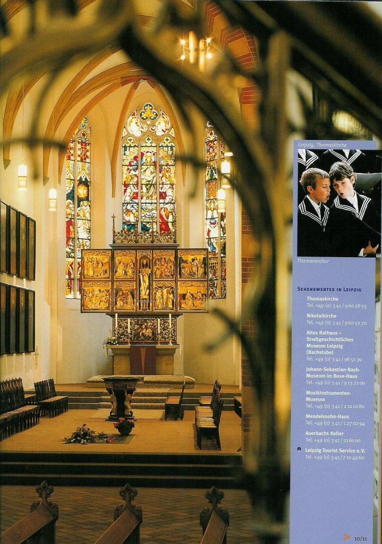 guide to bach tour leipzig photos part 2 thomaskirche st thomas church. Black Bedroom Furniture Sets. Home Design Ideas