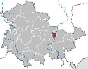 Guide To Bach Tour Jena City Map - Germany map jena