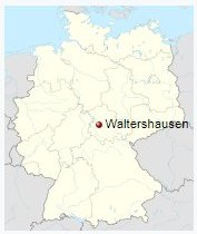 Guide to Bach Tour: Waltershausen - Maps